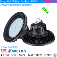 Industrial LM-80 TM21 projection 150W Nichia LED Illumination High Bay