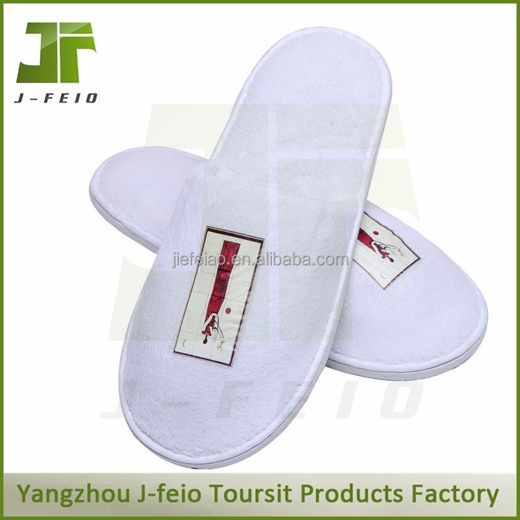 2014 new style man slipper shoe in white color