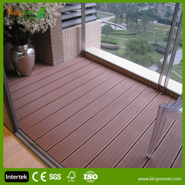 Popular high quality wpc decking wood plastic composite for 6 metre decking boards