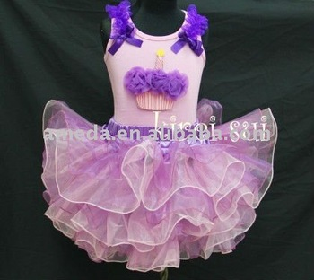 Purple Light Pink Layered Tutu 246
