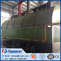 high output waste rubber pyrolysis machine for fuel oil/ tyre recycling machine