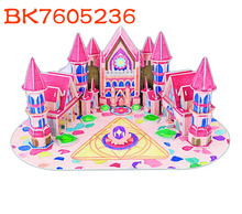 Best gifts intelligent diy painting puzzle 3d academy models toys for kids BK7605236