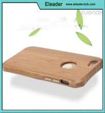 for iPhone 6S Case, Bamboo Wood Slim Covering Case for iPhone 6 6S