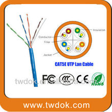 high quality with CE & Rohs of cat5e utp wire