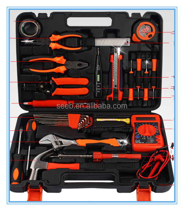 high quality new products 2015 us general electrical complete tool box set