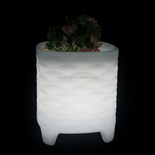 Hot selling illuminating led flower pot light with low price