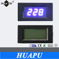Red Blue LED LCD Digital display AC ammeter single-phase current meter 79x43mm 100A