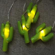 Cactus The Canton Fair Hot Product Battery Led String Light For Indoor Outdoor Decoration