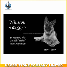Granite Dog Pet Memorial Stones