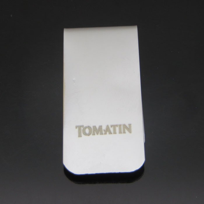 Hot sell good quality stainless steel money clips for promotional gift