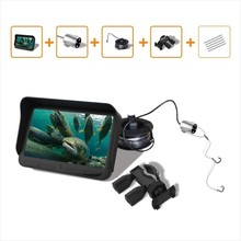 "2016 New 4.3"" LCD Underwater Camera Night Vision Fishing Camera Video Record Fishingrod Monitor System Video Fishfinder"