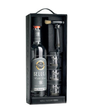 Black Faux Leather PU Wine Bottles Carrier Box