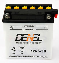 deep cycle moped scooter batteries motorcycle china 12 v5ah (12N5-3B)