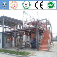 distillation plant use of palm acid oil for electric or cars