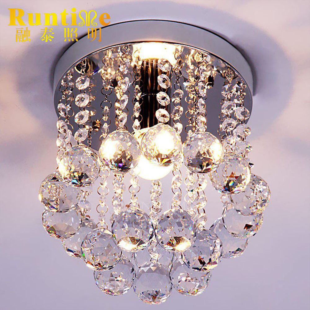 2017 Oversea Stock Decoration Home Round Crystal Ceiling <strong>Light</strong> Fixture RT6041