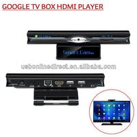 Android 4.2 Smart TV full hd 1080p support 3g usb dongle built in wifi dlan port micro sd card usb rj45 av dc hdmi port