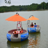 Lowest price hot sale sightseeing BBQ barbecue boats 2015