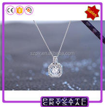JP0315 - Dancing Stone pendant wholesale fashion jewelry silver pendant crystal jewelry manufacturer