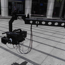 Broadcasting video camera jib, Portable small jib crane, 3m,5m,8m lite jib crane for light camera & DV Shooting,