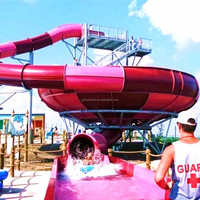 New Water Amusement Park Equipment with Good Water Slides Prices
