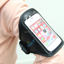 Newest neoprene mobile phone armband case for S4 with led light