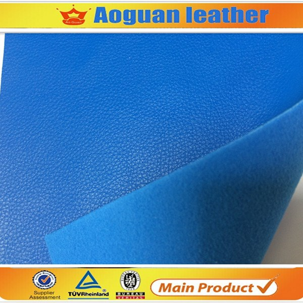 Handing soft high quality shoe material embossed microfibre leather for man shoe A1519
