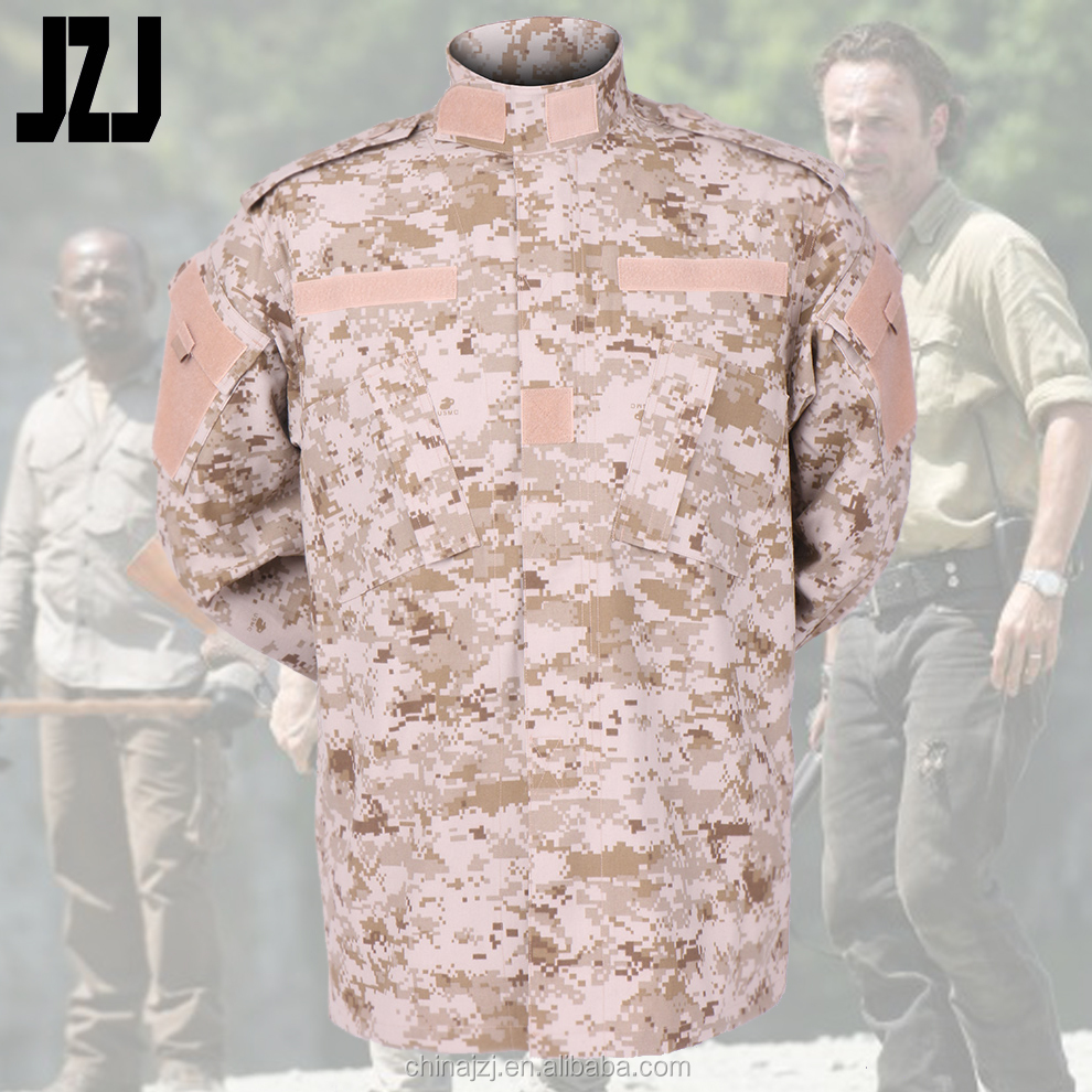 Custom ACU Camouflage Uniforms Rip-stop ACU Camo Desert Jacket Military Supplies