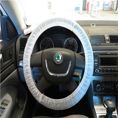 Client first pedal go kart steering wheel cover