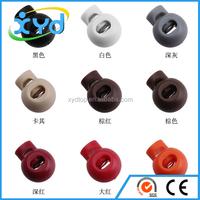 Colorful Plastic Cord Lock Stopper Toggle Clip for Sportswear Garment