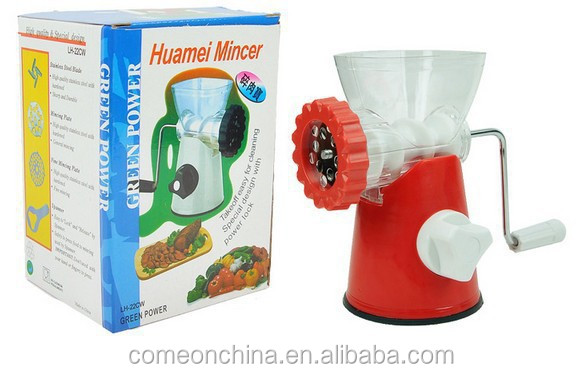 Multi-function Manual Kitchen Meat Grinder Mincer and Food Sausage Kitchen Hand