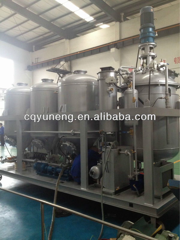 YNZSY500-1 Waste Lubricating Oil Water Distilled Equipment/Oil Recycling Machine AUTO STYLE