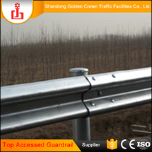 Wholesale favourable price galvanized AASHTO M180 W Beam Guardrail highway / expressway guard rail crash barrier