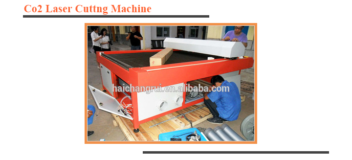 High Precision Textile Cloth Co2 Laser Cutting Machine price