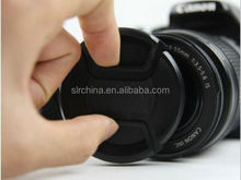 Universal DSLR SLR Camera Snap-On Front Lens Cap cover protector for Canon Nikon With Cord Strap