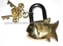 Brass Fish small Locks