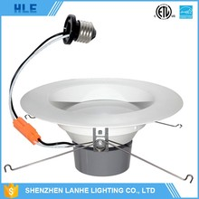 UL listed Triac dimmable 5000K netural white LED downlight gu10 base spot light