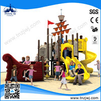 China Factory outdoor pirate ship kids playground equipment outdoor toys