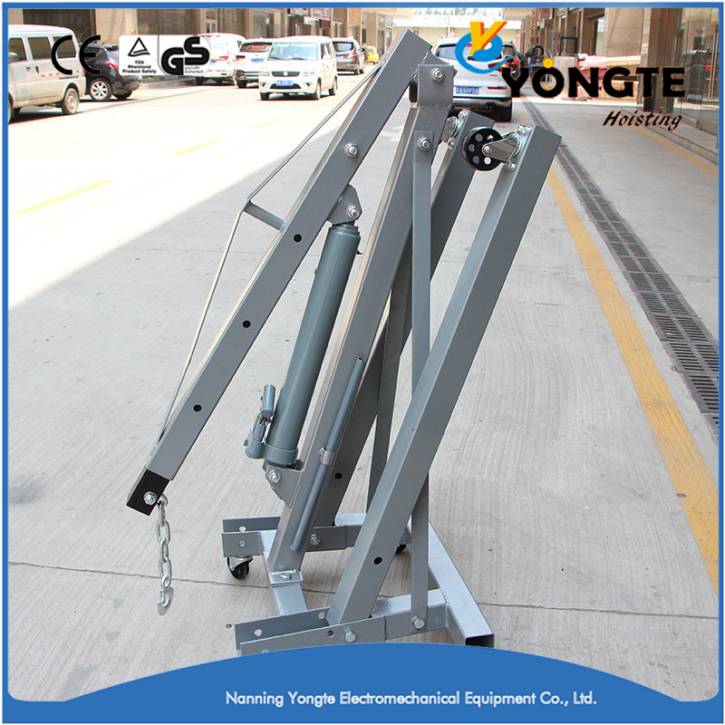 Lift Equipments Folding Small Manual Crane