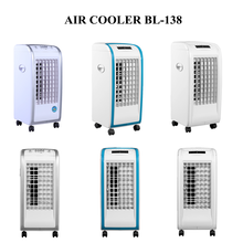 Japanese fashion most popular factory direct supply two ice packs stand fan air cooler fan BL-138DLR