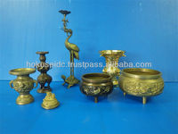 Custom-made Precision Brass Die Casting Buddhist altar fittings / Flower vases by Japanese manufacturer