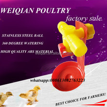 3 way ball valve broiler nipple drinker poultry nipple drinking system