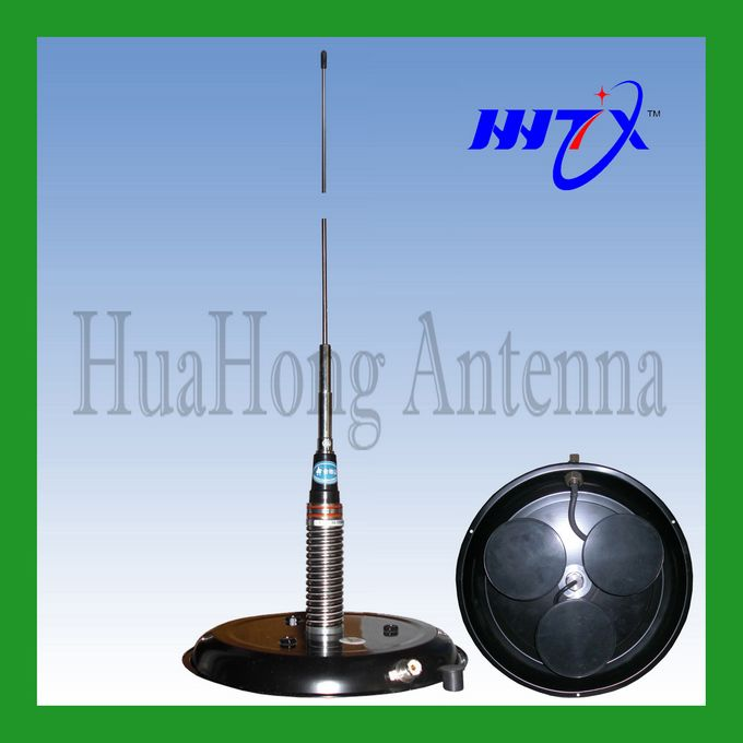 Triangle magnetic mount VHF mobile antenna