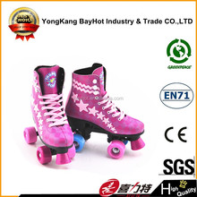 quad skates shoes inline skate PVC wheel