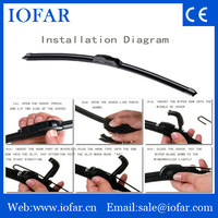 Reasonable price universal flat wiper blade