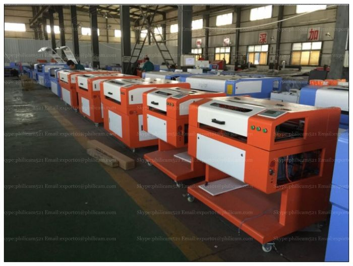 Philicam laser engraving machine/laser cutting machine