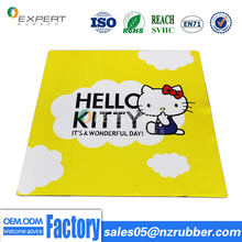 Factory price soft cloth surface natural rubber baby crawl play outdoor mats