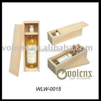 Hot selling small wooden gift boxes wine box