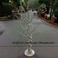 SJZDT02 Artificial white dry tree branch coral PU coral tree white branch tree