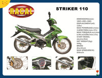 STRIKER110 Chongqing cub motorcycle 50cc for sale,best sale cub moped,gas mini cross