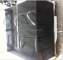 Black Grey Granite Pedestals Paving Block